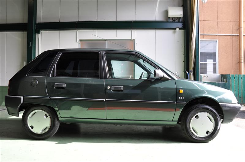 1993y citroen ax 14trs darkgreenm for Citroen garage 93